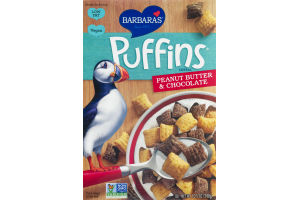 Barbara's Puffins Cereal Peanut Butter & Chocolate