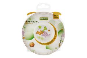 Тарілка для дітей від 6міс №6005 Baby Team 1шт
