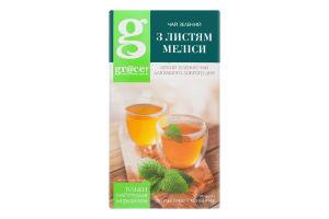 Чай зелений з листям меліси Gr @ ce к/у 25х1.5г