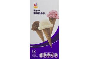 Ahold Sugar Cones - 12 CT