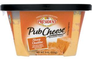 President Pub Cheese Sharp Cheddar
