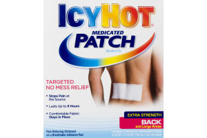IcyHot Medicated Patches for Back and Large Areas Extra Strength - 5 CT