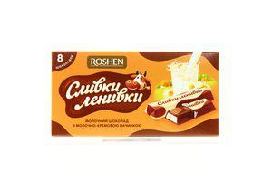Шоколад Сливки-Ленивки молочный Roshen 100г