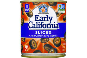 Musco Family Early California Sliced California Ripe Olives