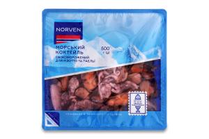 Коктейль морський для різотто і паельї Norven с/м п/у 500г