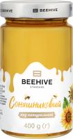 Мед натуральний соняшниковий Beehive с/б 400г