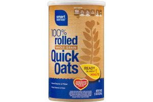 Smart Sense 100% Rolled Whole Grain Quick Oats