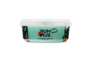 Хумус з нуту з в'яленими томатами і базиліком Yofi! п/у 250г