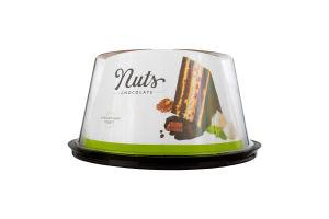 Торт шоколадно-горіховий Nuts Nonpareil п/у 0.9кг
