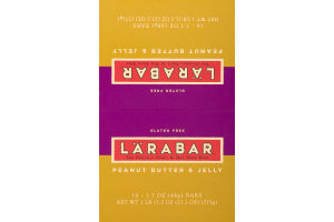 Larabar Fruit & Nut Bar Peanut Butter & Jelly - 16 CT