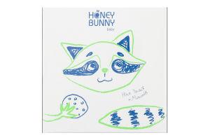 Салфетки бумажные 20х20см Honey Bunny 100шт