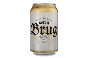 Пиво спеціальне 0.33л 6.7% світле пастеризоване Blonde Elegant Keten Brug з/б