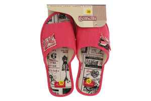 Тапочки комнатные женские №PW-1601356 Gemelli Эвелина 2 36-40