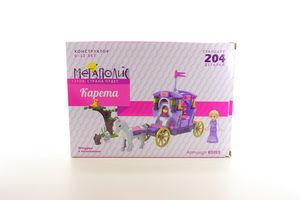 Іграшка конструктор Мегаполіс Країна чудес арт.K1015 Карета, 204 дет.