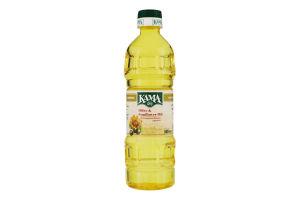 Масло подсолнечно-оливковое рафинированное Кама п/бут 500мл