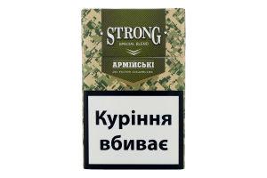 Сигариллы с фильтром Strong Special Blend Армейские 20шт