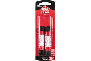 "Kiwi Dress Laces Braided Brown 30"" - 2 CT"