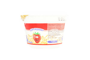 Йогурт 2.5% з наповнювачем Вівсянка-полуниця Гормолзавод №1 ст 200г