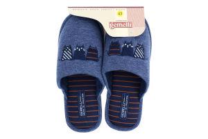 Тапочки комнатные мужские Gemelli Оникс 6 41-45
