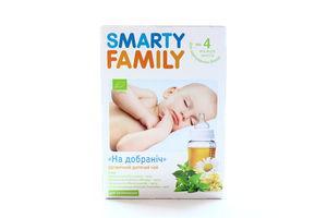 Чай Smarty Family На добраніч органіч дитяч 4+ 1,3г*20 х16