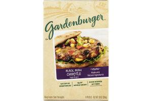 Gardenburger Veggie Burgers Black Bean Chipotle - 4 CT