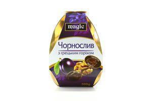 Конфеты Чернослив с грецким орехом Magic к/у 300г