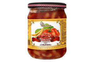 Квасоля в томатному соусі Смачна BelFood с/б 450г