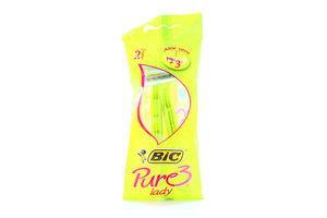 Станок для бритья женский одноразовый Pure 3 BIC 2шт