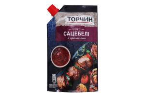 Соус томатний з прянощами Сацебелі Торчин д/п 200г