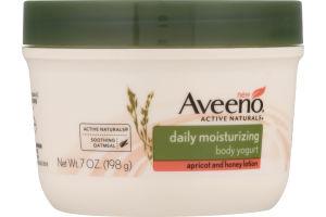Aveeno Daily Moisturizing Body Yogurt Apricot and Honey Lotion