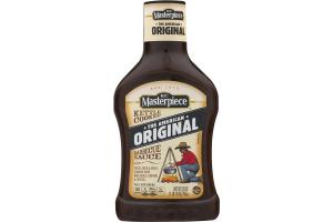 KC Masterpiece Original Barbecue Sauce, 28 Ounces
