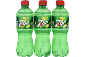 7-Up Bottles - 6 PK