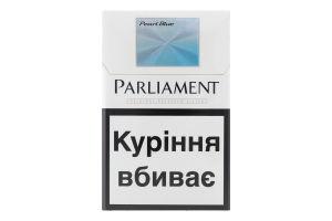 Сигареты с фильтром Pearl Blue Parliament 20шт