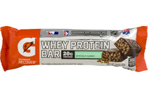Gatorade Recover Whey Protein Bar Mint Chocolate Crunch