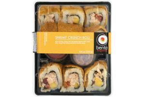 Bento Express Sushi Shrimp Crunch Roll