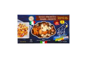 Замороженный Морской Коктейль, Sugo Pronto Mare e Monti / Готовий соус Море та Гори, 400*10