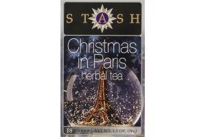 Stash Herbal Tea Christmas In Paris Tea Bags - 18 CT