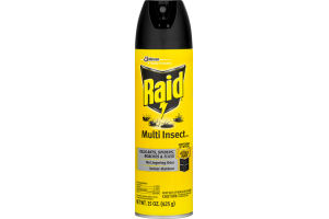 Raid Multi Insect Killer 7 Indoor-Outdoor