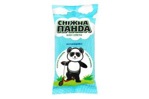 Салфетки влажные для рук антимикробные Kids Сніжна Панда 15шт