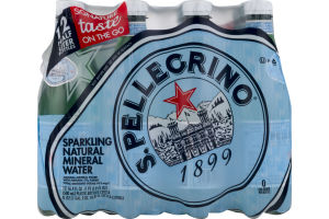 S. Pellegrino Sparkling Natural Mineral Water - 12 CT
