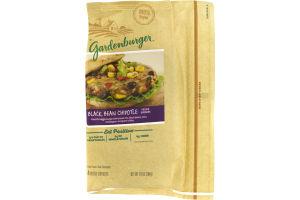 Gardenburger Veggie Burger Black Bean Chipotle - 4 CT