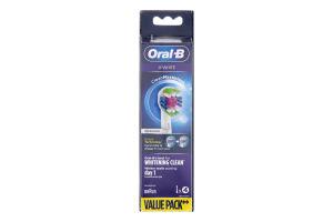 Насадки змінні для електричної зубної щітки 3D White CleanMaximiser Oral-B 4шт