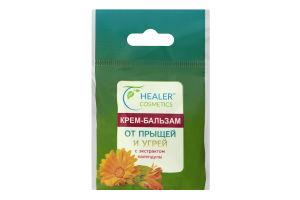 Крем-бальзам от прыщей и угрей с экстрактом календулы Healer Cosmetics 10г