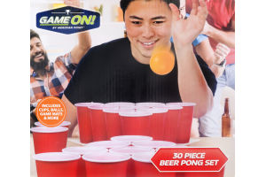 Game On! Beer Pong Set - 30 CT
