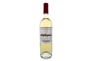 Вино 0.75л 11-13% біле напівсухе Traminer Gorobchiki Cotnar пл