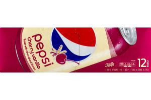 Pepsi Cherry Vanilla - 12 PK