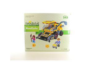 Іграшка конструктор Мегаполіс Передмістя арт.K1007 Комбайн, 343 дет.