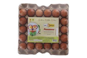 Яйца куриные С1 Утреннее Це - яйце! м/у 30шт