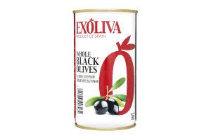 Маслины с косточкой Exoliva ж/б 350г