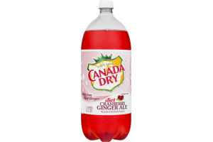 Canada Dry Diet Cranberry Ginger Ale Caffeine Free